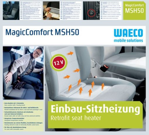 MSH 50 MagicComfort  Nachrüstb. Sitzheizung 12 Volt ..