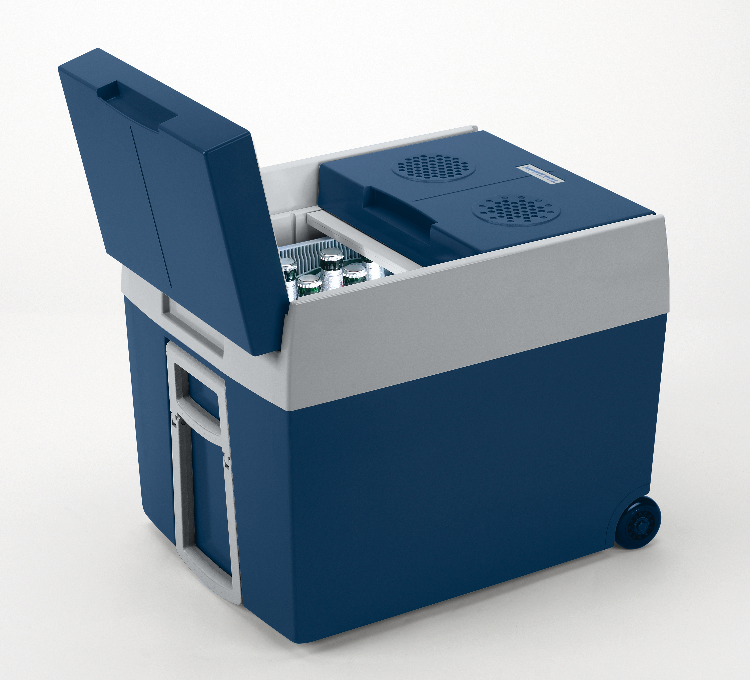48 l mobicool w48 elektrische kühlbox, blaumetallic – 12/230 v