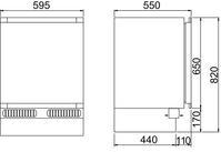 CoolMatic  HDC 150 FF / TK-Schrank