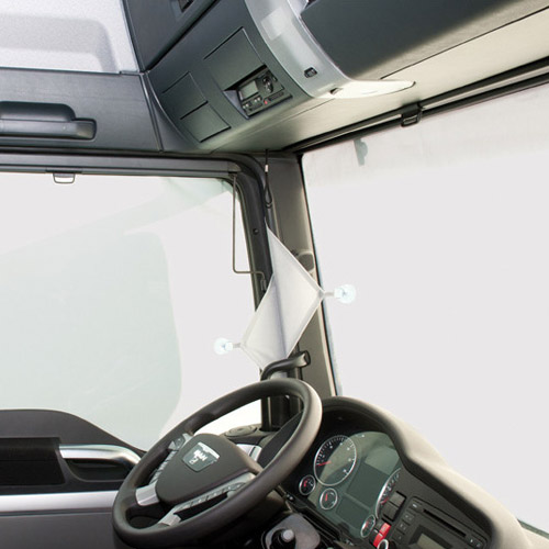 Sichtschutz für Fahrerhäuser