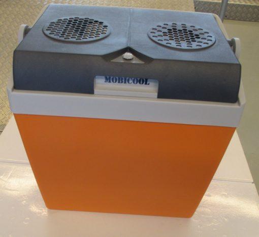 25 L Mobicool V 26 – 12 + 230 V orange-blau
