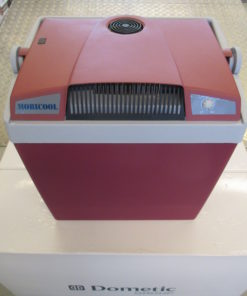 26 L Mobicool G26 12+230 V / Thermoelektrische Kühlbox A+++ incl. Iso-Deckel, marsala / marsala