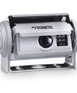 DOMETIC PerfectView CAM 80CM kleine Farbkamera mit Shutter, Silberfarben, 145 ° Diagonal mit PAL-Videosignal