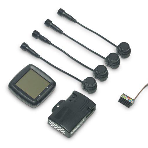DOMETIC MagicWatch MWE 6004 LKW-Einparkhilfe für das Heck, vier Sensoren