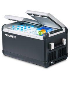 Dometic CoolFreeze CFX 75DZW Mobile Zweizonen-Kompressorkühl- und -gefrierbox, 70 Liter, Kühlbox, Tiefkühlung