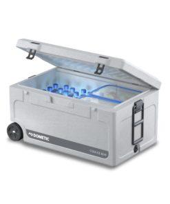 Dometic Cool-Ice CI 85W Isolierbox mit Rollen und ausziehbarem Griff, 86 l