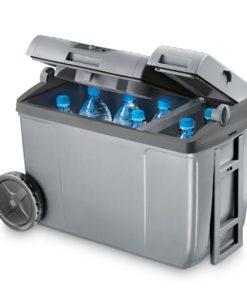 Dometic CoolFun SC 38 Kühlbox mit Rollen und Teleskopgriff grau