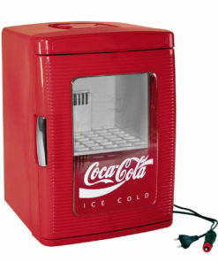 Ezetil Mini Kühlschrank MF25 - 12/230 V, Coca-Cola Style