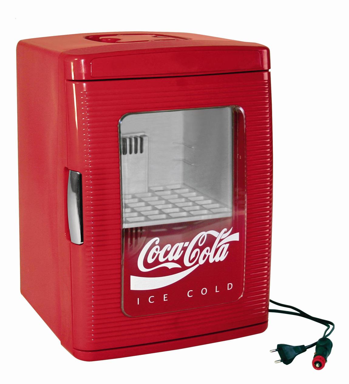 023 L EZetil Minikühlschrank MF25 - 12/230 V, Coca-Cola-Style ...