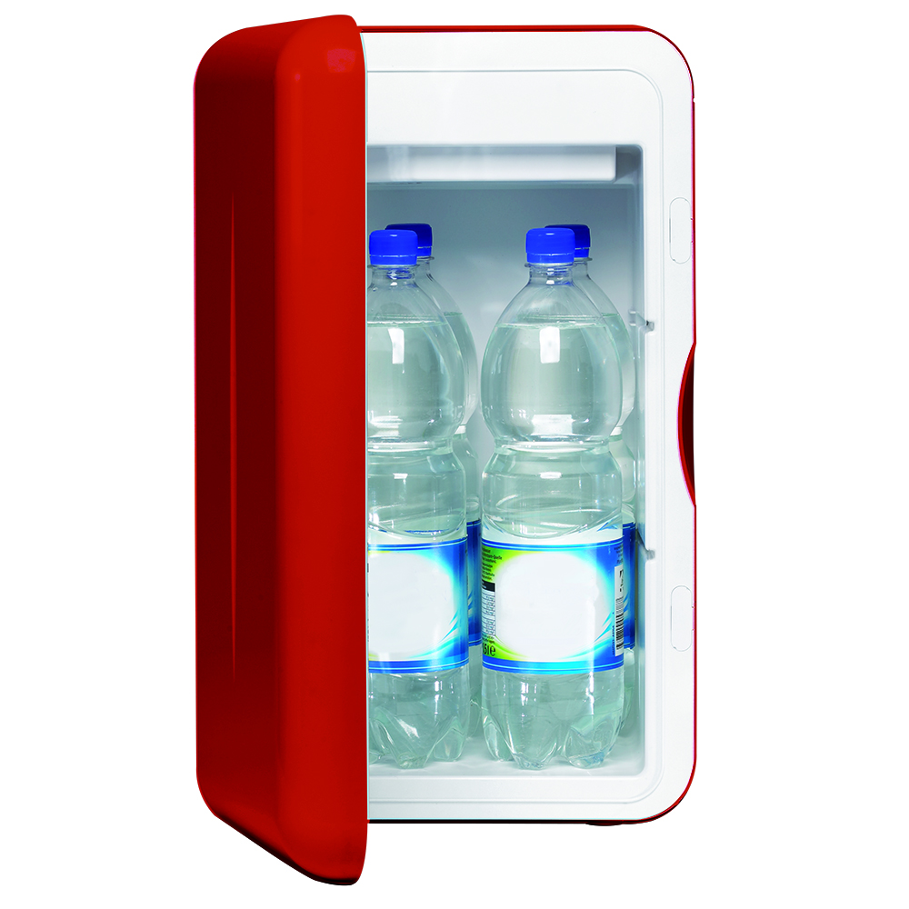 015 L Mobicool F16 Thermoelektrischer Mini-Kühlschrank, rot – 230 V ...