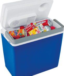 EZetil Mirabelle E24 12V Passiv-Kühlbox blau / weiß