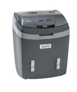 Ezetil E3000 12/24/230V Carbon-Kühlbox dunkelgrau
