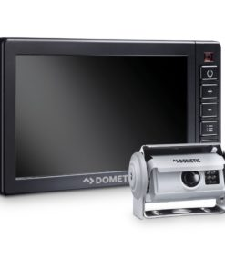 DOMETIC PerfectView RVS 580X AHD Rückfahrvideosystem mit Shutterkamera und robustem 5-Zoll-Monitor