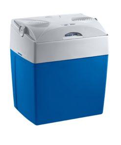 Mobicool V30 AC/DC elektrische Kühlbox, Stahlblau– 12/230 V, 29 l