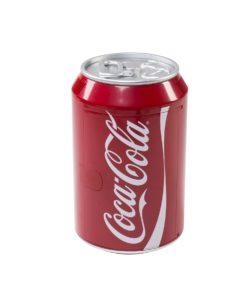 EZetil Coca-Cola Mini Kühlschrank 9 l Cool Can 10 in Getränkedosenoptik, 12/230V mit Kühl- und Warmhaltefunktion, rot