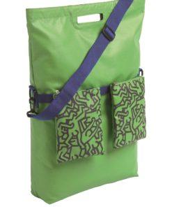 Mobicool Voyage Keith Haring Kühlsack, Kühltasche grün